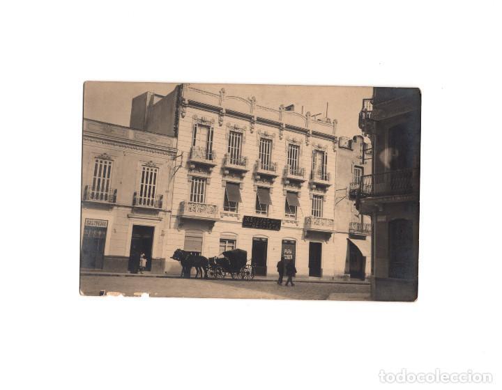 MELILLA.- CALLE GENERAL PAREJA, 12. DENTINSTA MELIVEO.- POSTAL FOTOGRÁFICA. (Postales - España - Melilla Antigua (hasta 1939))