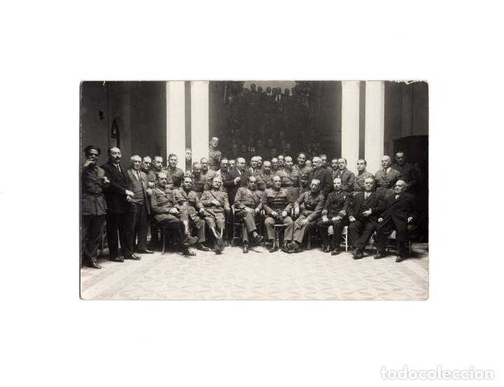 MELILLA.- GRAN CASINO MILITAR. BANQUETE ASCENSO GENERAL CARRASCO.1930. POSTAL FOTOGRÁFICA. (Postales - España - Melilla Antigua (hasta 1939))