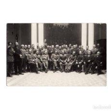 Postales: MELILLA.- GRAN CASINO MILITAR. BANQUETE ASCENSO GENERAL CARRASCO.1930. POSTAL FOTOGRÁFICA.. Lote 171225439