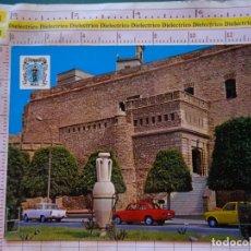 Postales: POSTAL DE MELILLA. AÑO 1971. PUERTA DE LA MARINA, ÁNFORA. COCHES. 394. Lote 174085623