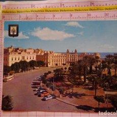 Postales: POSTAL DE MELILLA. AÑO 1963. PLAZA DE ESPAÑA AUTOBÚS COCHES. 397. Lote 174085713