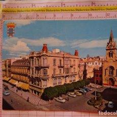 Postales: POSTAL DE MELILLA. AÑO 1968. PLAZA MENÉNDEZ PELAYO. IGLESIA SAGRADO CORAZÓN. 408. Lote 174086740