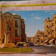 Cartes Postales: POSTAL DE MELILLA. AÑO 1969. MONUMENTO A LOS CAIDOS. FURGONETA GAS BUTANO, SEAT 600. 409. Lote 174086807