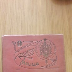 Postales: POSTALES RECUERDO DE MELILLA-SERIE B BOIX HERMANOS. Lote 174282668