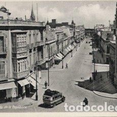 Postales: MELILLA - AVENIDA DE LA REPUBLICA. Lote 175162240