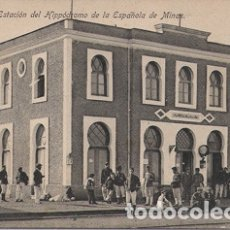 Postales: MELILLA - ESTACION DEL HOPODROMO DE LA ESPAÑOLA DE MINAS. Lote 175162254