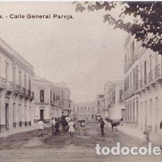 Postales: MELILLA - CALLE GENERAL PAREJA. Lote 175162283