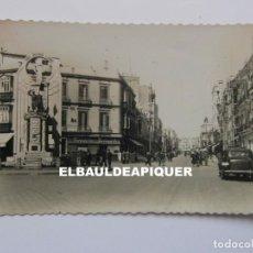 Postales: 7 MELILLA. AVENIDA DEL GENERALISIMO. CIRCULADA 1955. CCTT. Lote 176446128