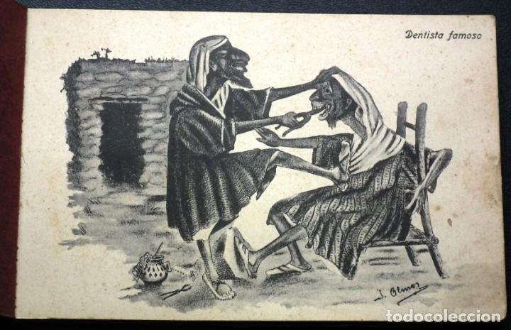 Postales: POSTALES DE MELILLA - CARICATURAS MORAS (1ª SERIE) + RECUERDO DE MELILLA (1ª SERIE). HERMANOS BOIX - Foto 2 - 176849699