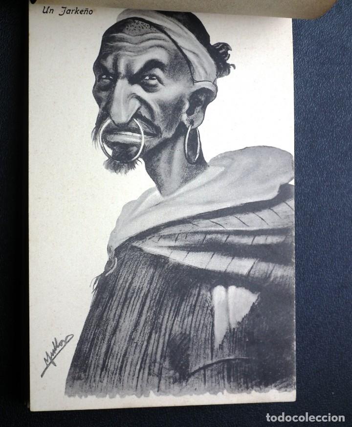 Postales: POSTALES DE MELILLA - CARICATURAS MORAS (1ª SERIE) + RECUERDO DE MELILLA (1ª SERIE). HERMANOS BOIX - Foto 7 - 176849699