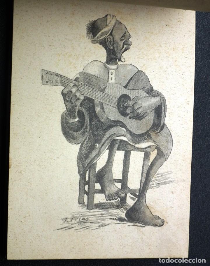 Postales: POSTALES DE MELILLA - CARICATURAS MORAS (1ª SERIE) + RECUERDO DE MELILLA (1ª SERIE). HERMANOS BOIX - Foto 8 - 176849699
