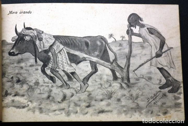 Postales: POSTALES DE MELILLA - CARICATURAS MORAS (1ª SERIE) + RECUERDO DE MELILLA (1ª SERIE). HERMANOS BOIX - Foto 11 - 176849699