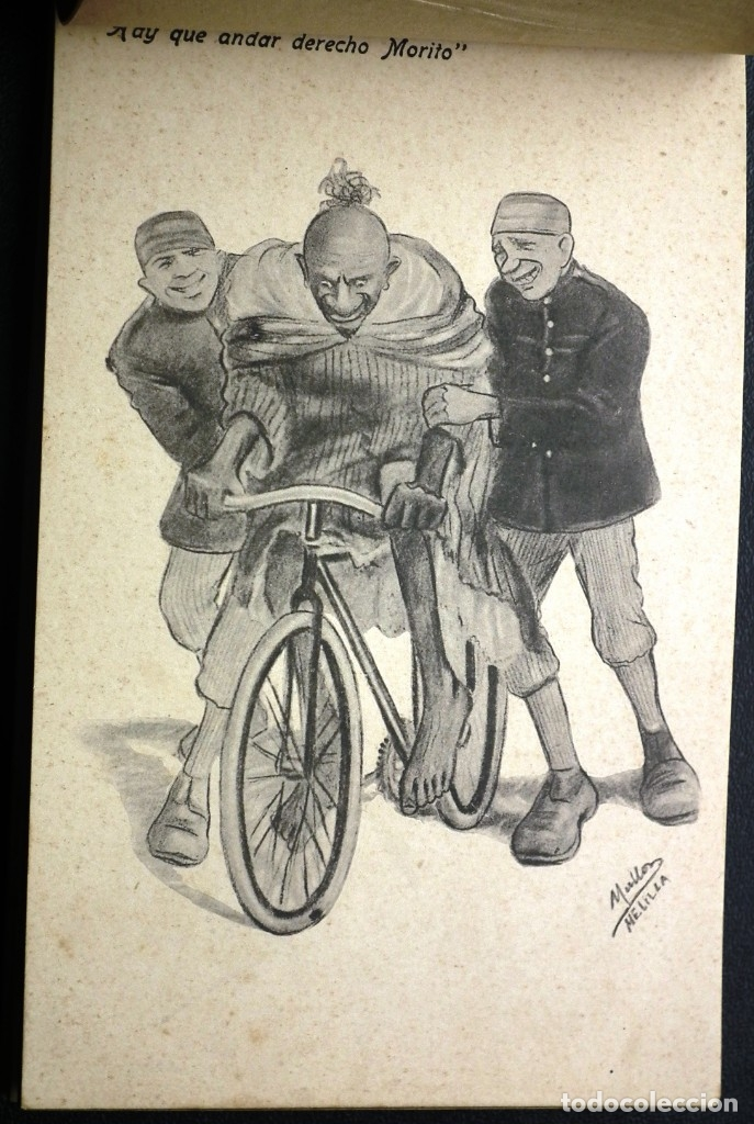 Postales: POSTALES DE MELILLA - CARICATURAS MORAS (1ª SERIE) + RECUERDO DE MELILLA (1ª SERIE). HERMANOS BOIX - Foto 13 - 176849699