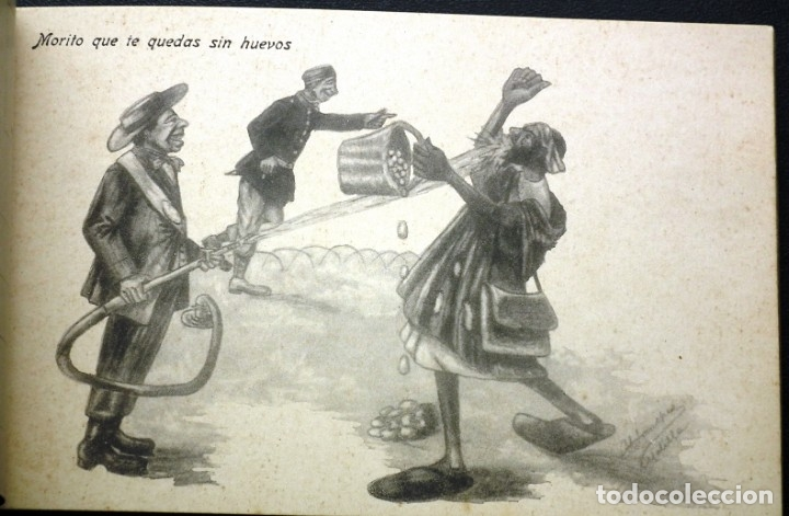 Postales: POSTALES DE MELILLA - CARICATURAS MORAS (1ª SERIE) + RECUERDO DE MELILLA (1ª SERIE). HERMANOS BOIX - Foto 14 - 176849699