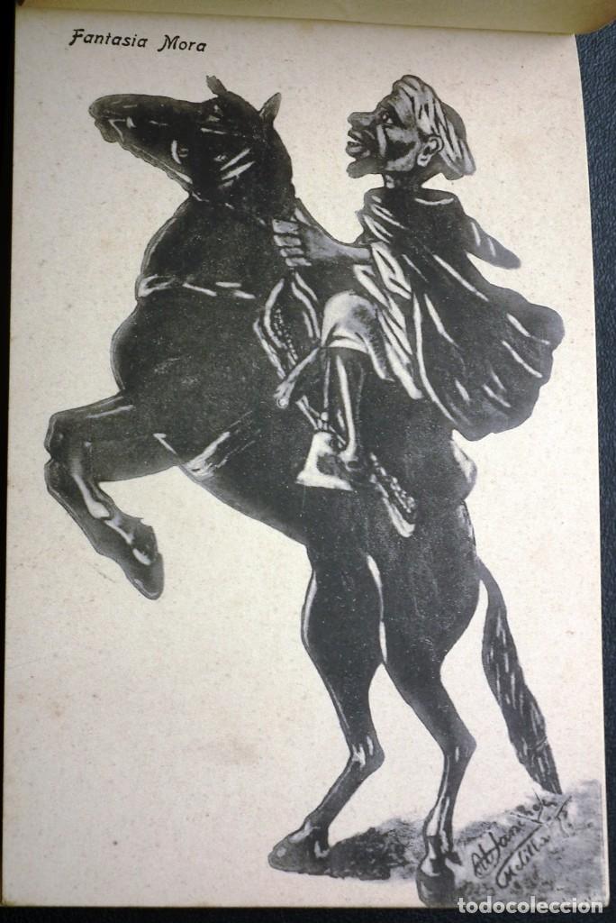 Postales: POSTALES DE MELILLA - CARICATURAS MORAS (1ª SERIE) + RECUERDO DE MELILLA (1ª SERIE). HERMANOS BOIX - Foto 17 - 176849699