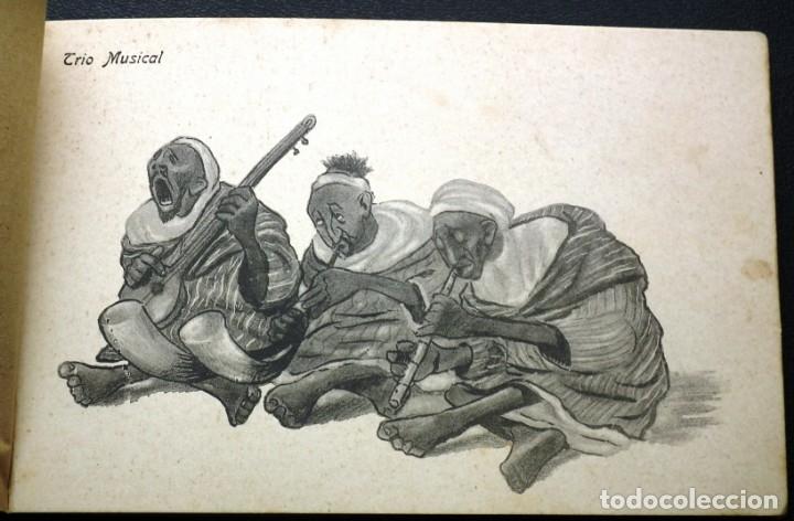 Postales: POSTALES DE MELILLA - CARICATURAS MORAS (1ª SERIE) + RECUERDO DE MELILLA (1ª SERIE). HERMANOS BOIX - Foto 20 - 176849699