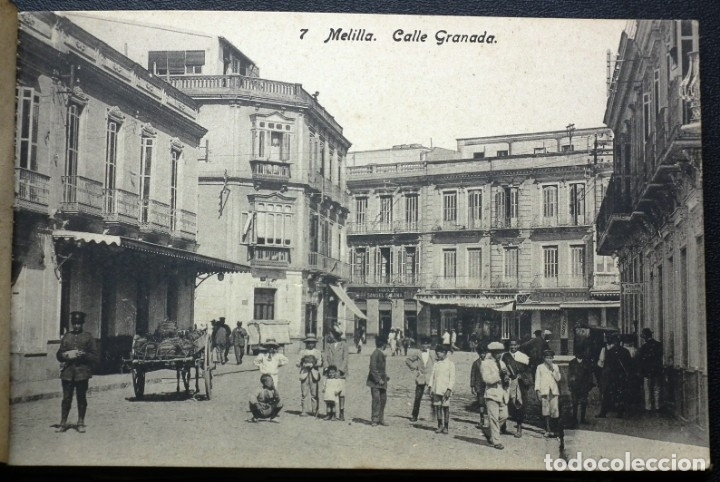 Postales: POSTALES DE MELILLA - CARICATURAS MORAS (1ª SERIE) + RECUERDO DE MELILLA (1ª SERIE). HERMANOS BOIX - Foto 28 - 176849699