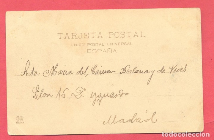 Postales: melilla. 1071 hauser y menet, circulada 1902 sin sello , ver fotos - Foto 2 - 177143070