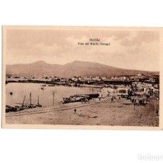 Postales: MELILLA.- VISTA DEL MUELLE GARUGUI.. Lote 177738740