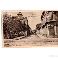 Postales: MELILLA.- VISTA DE LA CALLE FALCON.. Lote 178266760