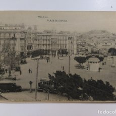 Postales: MELILLA-PLAZA ESPAÑA-HAUSER Y MENET-(62.942). Lote 178975052