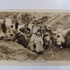 Postales: MELILLA-GRUPO DE MOROS VENDEDORES-16-ROISIN-VER REVERSO-(62.946). Lote 178975402