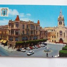 Postales: TARJETA POSTAL - MELILLA - PLAZA DE MENENDEZ Y PELAYO. Lote 179093025
