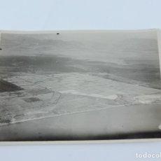 Postales: FOTOGRAFIA DE MELILLA. SALINAS DE MAR CHICA.1929. AVIACIÓN MILITAR SERVICIO FOTOGRÁFICO. PILOTO CAPI. Lote 182587903