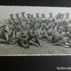 Postales: MELILLA GRUPO DE MILITARES FOTO IMPERIO POSTAL FOTOGRAFICA . Lote 183066046