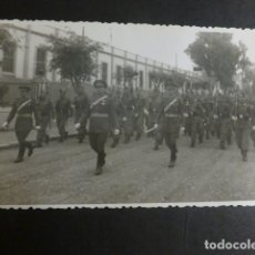 Postales: MELILLA DESFILE MILITAR 1944 POSTAL FOTOGRAFICA . Lote 183066091
