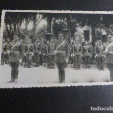 Postales: MELILLA JURA DE BANDERA 1944 POSTAL FOTOGRAFICA . Lote 183066116