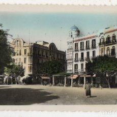 Postales: MELILLA. PLAZA DE ESPAÑA. ESCRITA EL 15 DE JULIO DE 1961.. Lote 183274570
