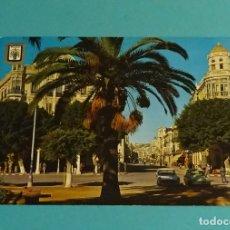 Postales: MELILLA. AVENIDA DEL GENERALÍSIMO. ESCUDO DE ORO. Lote 183357161