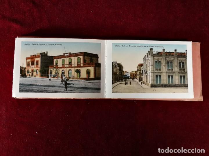Postales: POSTALES RECUERDO DE MELILLA SERIE A Boix Hermanos, Serie desplegable completo 22 Imagenes años 20 - Foto 4 - 183689926