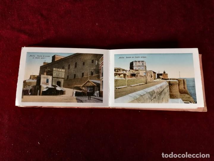 Postales: POSTALES RECUERDO DE MELILLA SERIE A Boix Hermanos, Serie desplegable completo 22 Imagenes años 20 - Foto 5 - 183689926