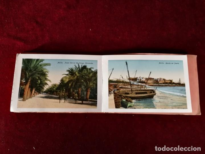 Postales: POSTALES RECUERDO DE MELILLA SERIE A Boix Hermanos, Serie desplegable completo 22 Imagenes años 20 - Foto 7 - 183689926