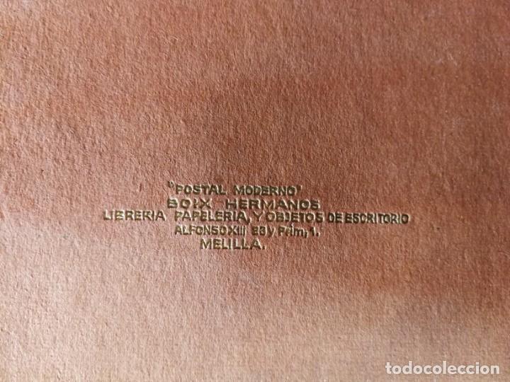 Postales: POSTALES RECUERDO DE MELILLA SERIE A Boix Hermanos, Serie desplegable completo 22 Imagenes años 20 - Foto 9 - 183689926