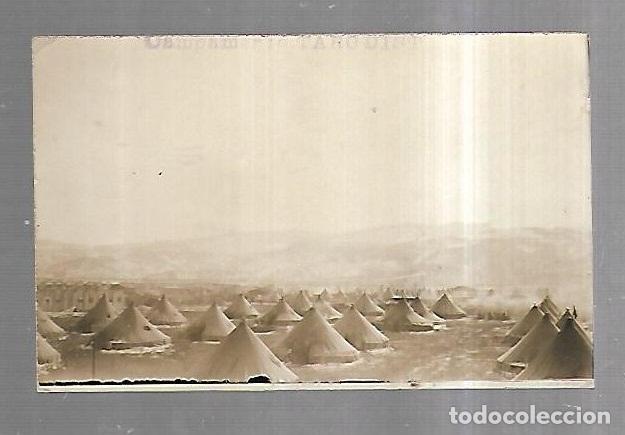 TARJETA POSTAL. MELILLA. CAMPAMENTO TARGUIST. FOTOGRAFIA ARTISTICA ALHUCEMAS (Postales - España - Melilla Antigua (hasta 1939))