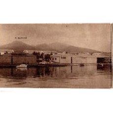 Postales: MELILLA.- AVIACIÓN MILITAR. BASE DE HIDROS DEL ATALAYON. TRIPLE FOTOGRÁFICA.. Lote 188795847