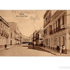 Cartoline: MELILLA.- CALLE GENERAL PAREJA.. Lote 189680587
