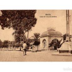 Postales: MELILLA.- CALLE DEL GENERAL JORDANA.. Lote 189779267