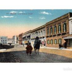 Postales: MELILLA.- CALLE DEL GENERAL CHACEL. Lote 189780246