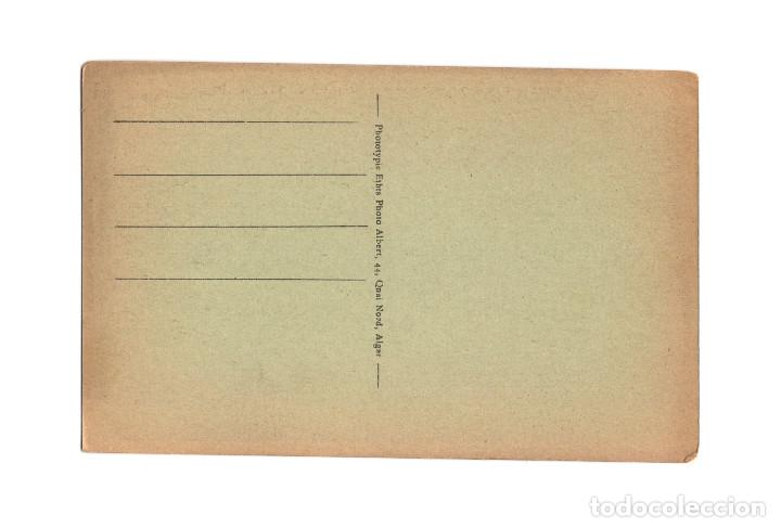 Postales: MELILLA.- PUENTE DE CEMENTO ARMADO SOBRE LA CALLE DEL ACTOR TALLAVI. - Foto 2 - 189780480