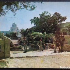 Cartes Postales: CUARTEL GRAN CAPITAN DE LA LEGIÓN, POSTAL CIRCULADA CON SELLO DEL AÑO 1967. Lote 193250531