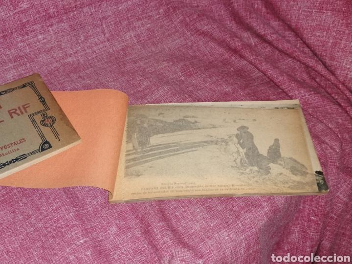 Postales: BLOCK COMPLETO DE 12 POSTALES RECUERDO DE LA CAMPAÑA DEL RIF DAR AZUGAJ 1921 - Foto 3 - 193957895