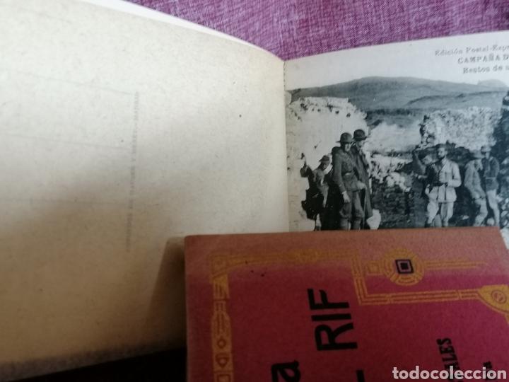 Postales: BLOCK COMPLETO DE 12 POSTALES RECUERDO DE LA CAMPAÑA DEL RIF DAR AZUGAJ 1921 - Foto 9 - 193957895