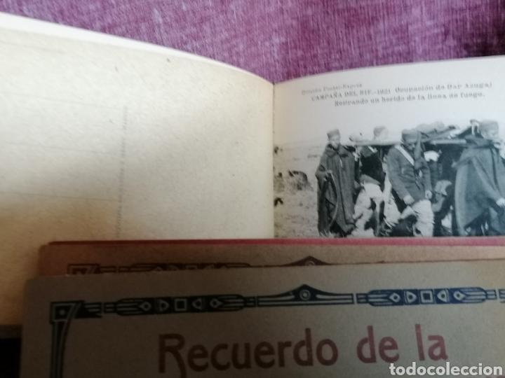Postales: BLOCK COMPLETO DE 12 POSTALES RECUERDO DE LA CAMPAÑA DEL RIF DAR AZUGAJ 1921 - Foto 10 - 193957895