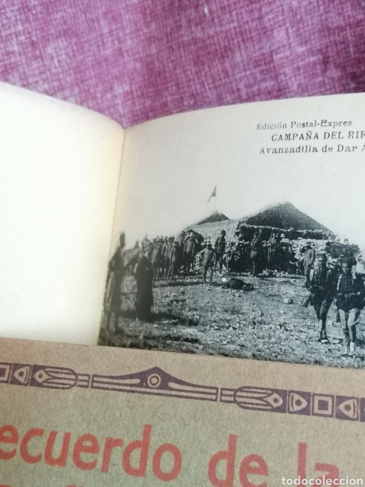 Postales: BLOCK COMPLETO DE 12 POSTALES RECUERDO DE LA CAMPAÑA DEL RIF DAR AZUGAJ 1921 - Foto 12 - 193957895