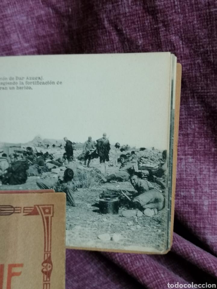 Postales: BLOCK COMPLETO DE 12 POSTALES RECUERDO DE LA CAMPAÑA DEL RIF DAR AZUGAJ 1921 - Foto 13 - 193957895