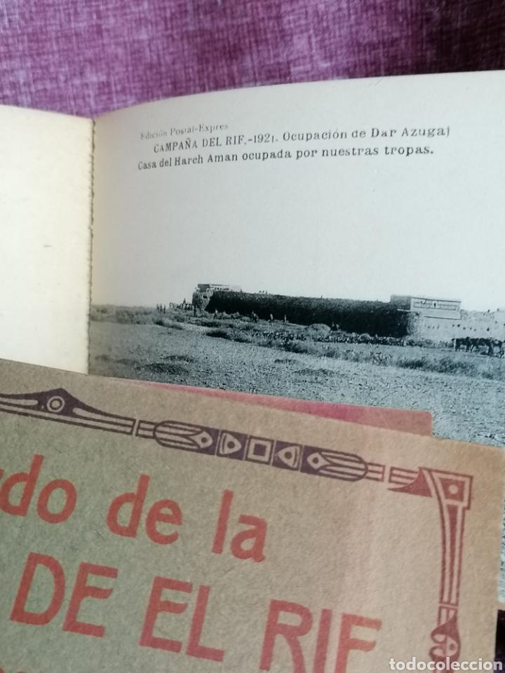 Postales: BLOCK COMPLETO DE 12 POSTALES RECUERDO DE LA CAMPAÑA DEL RIF DAR AZUGAJ 1921 - Foto 14 - 193957895